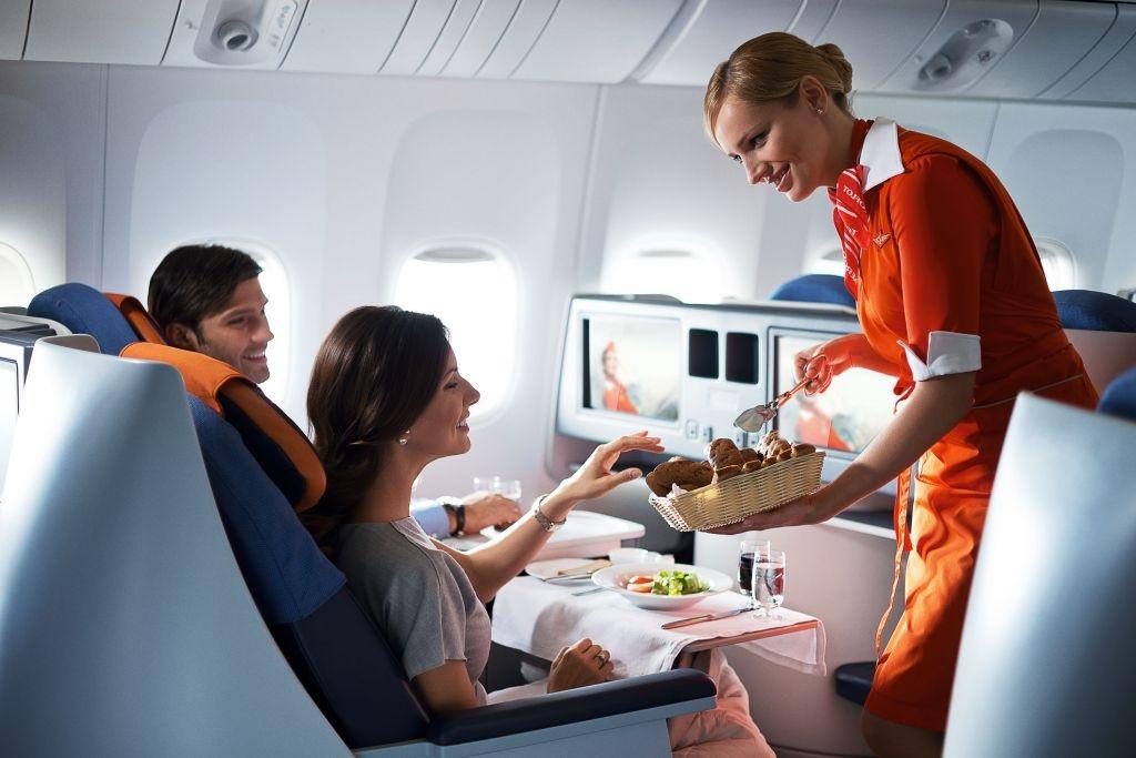 питание перед полетом